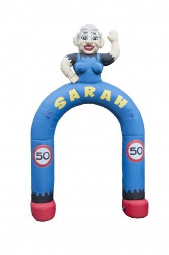 Sarah boog, hoog 3,5 meter