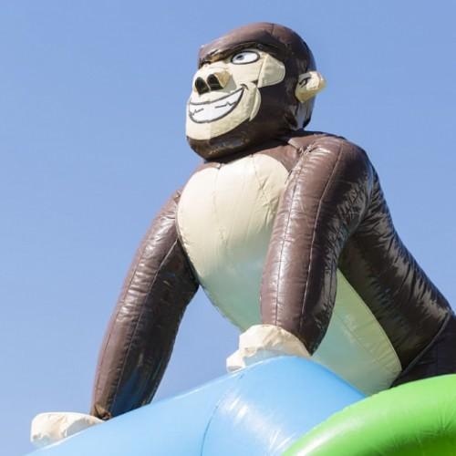 Springkussen gorilla