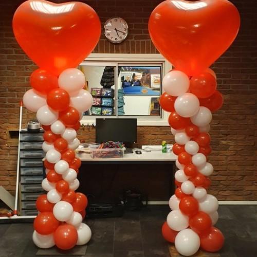 Ballonnenzuil met hart