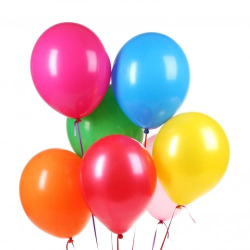 Ballonnen vullen met helium