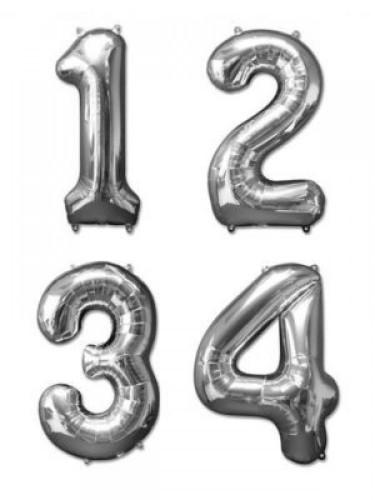 Balloncijfers 35 cm