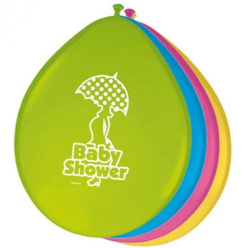 Ballonnen Babyshower 8 st.