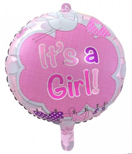 Folieballon Its-a-Girl 43cm