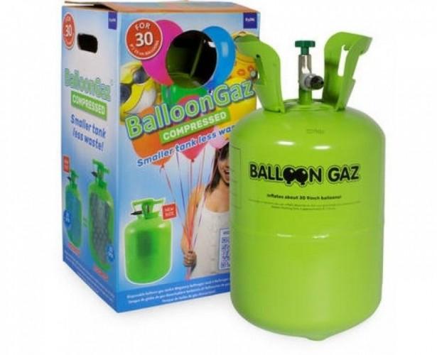 Heliumtankje voor plm 30 ballonnen