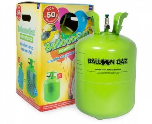 Heliumtankje voor plm 50 ballonnen