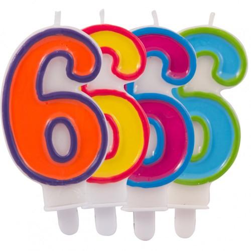 Nummerkaars 6