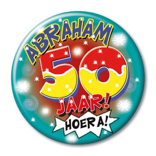 Button Abraham 50 klein