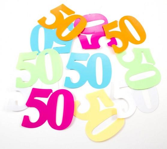 Tafelconfetti XL 50 12 stuks