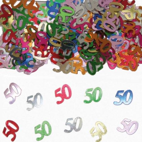 Tafelconfetti XL 50 Jaar