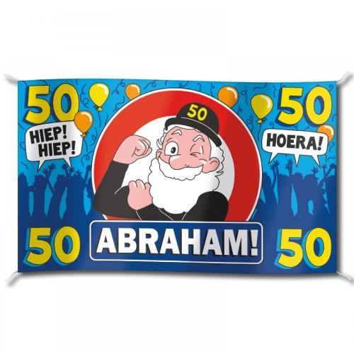 Mega vlag 'Abraham'