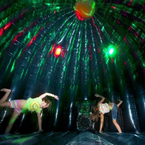 Springkussen disco 4 meter