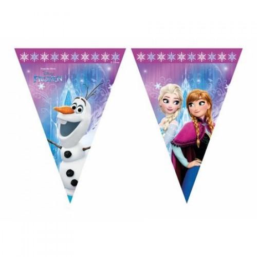 Vlaggenlijn Frozen 2,3 meter