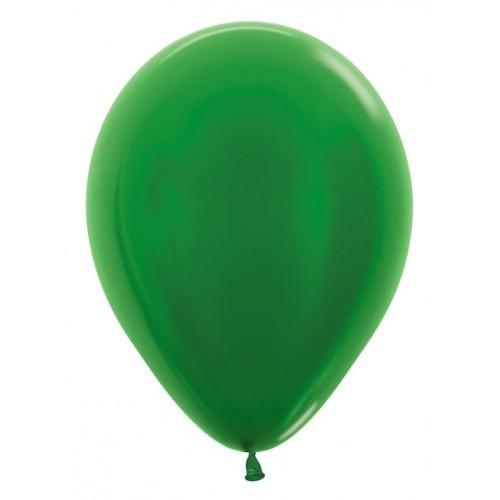 Ballonnen Metallic 30 cm 10 stuks