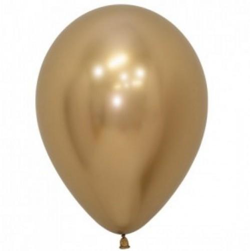 Ballonnen Reflex (chrome) 30 cm 10 stuks