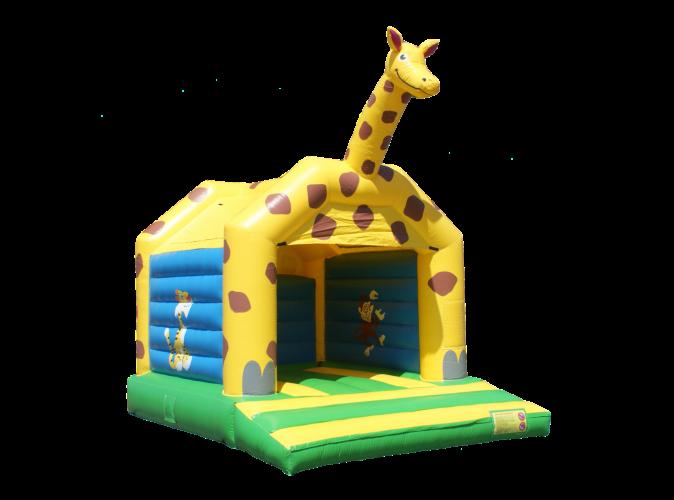 Springkussen giraffe