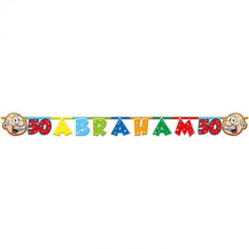 50 jaar Abraham Regenboog Letterslinger 1,6 mtr
