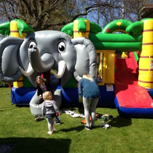 Springkussen multiplay olifant