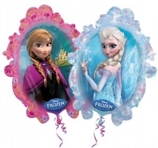 Folieballon Frozen tweezijdig 80 cm