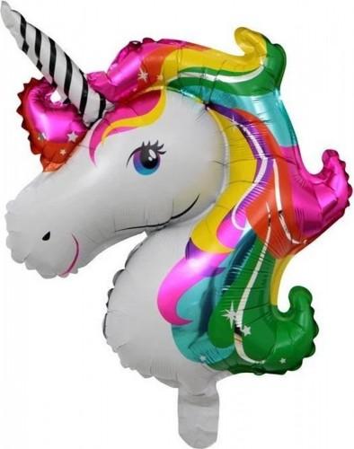 Folieballon Unicorn Rainbow 83 cm