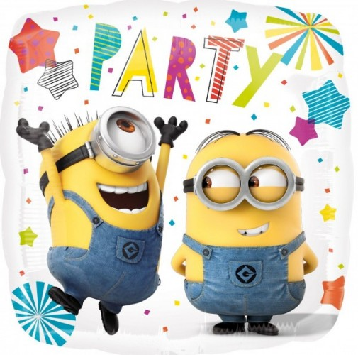 Folieballon Minion Party 45 cm
