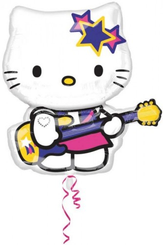 Folieballon Hello Kitty Rock Star 69 cm