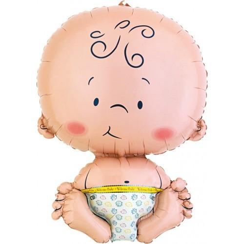 Folieballon baby 61 cm