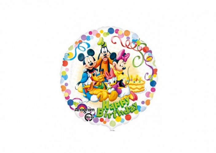 Folieballon Mickey Mouse friends 45 cm