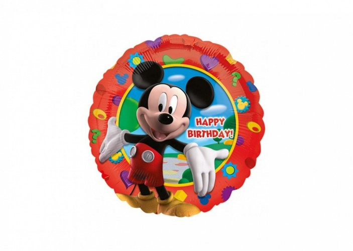 Folieballon Mickey Mouse Clubhouse Birthday 45 cm