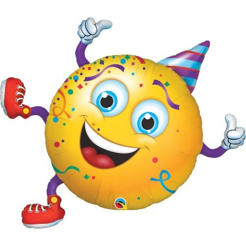 Folieballon Smiley 96 cm