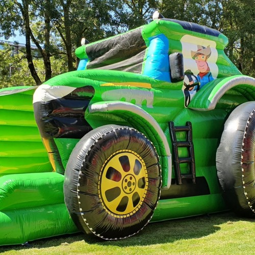 Stormbaan tractor run 17 meter