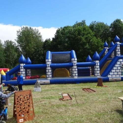 Stormbaan kasteel 19 meter