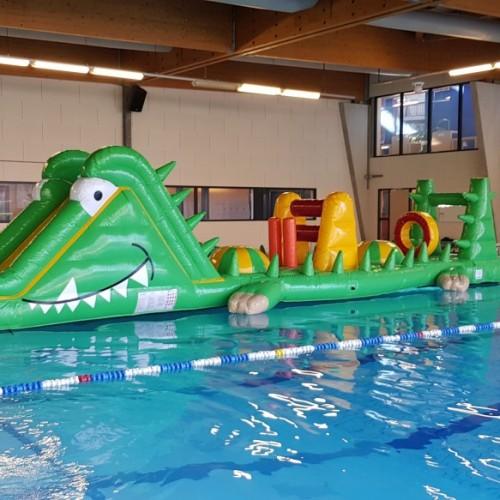 Water stormbaan krokodil