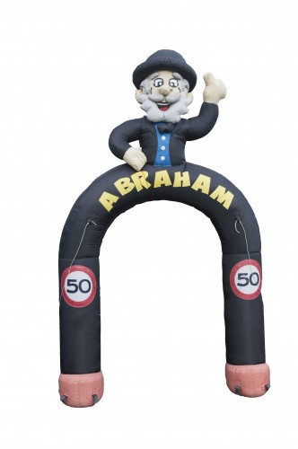 Abraham boog, hoog 3,5 meter